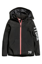 Softshell jacket - Black -  | H&M 2
